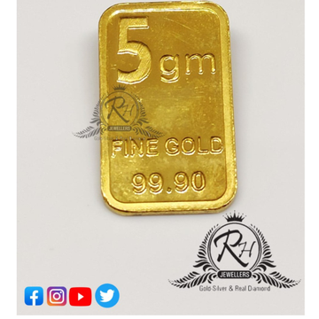 999 24k gold 5gm coin RH-GC1000
