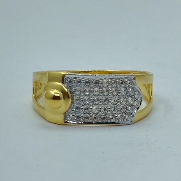 22k light weight executive gents ring by Shree Sumangal Jewellers