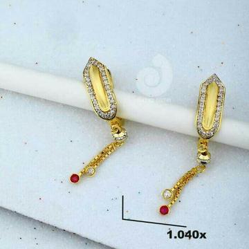 18ct Cz Gold Chain Bali