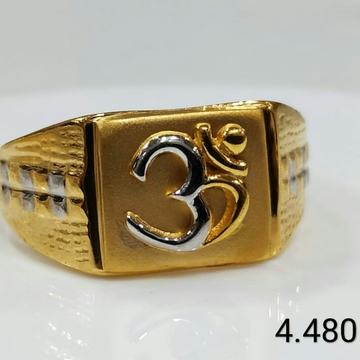 22kt gold ring by