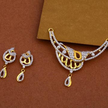 916 Gold Cz Designer Mangalsutra Pendant MP15