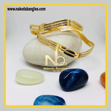 916 Gold CNC Bangles NB - 1274