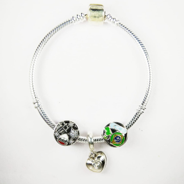 92.5 sterling silver bracelet kada by