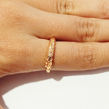 delicate dimond ring by J.H. Fashion Jewellery