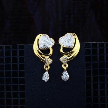 916 Gold CZ Earring RH-ER081