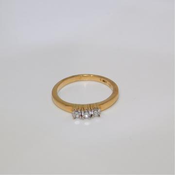 18K gold diamond ring agj-lr-2