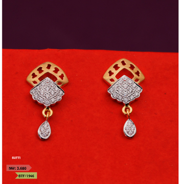 CZ CLASSIC LATKAN EARRINGS