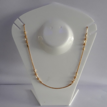 22k new antique ladies chain by