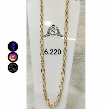22 Carat Gold Fancy Gents Chain RH-CH774