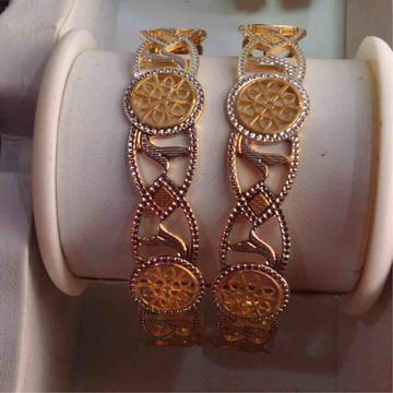 916 Gold Machine Cut Bangle