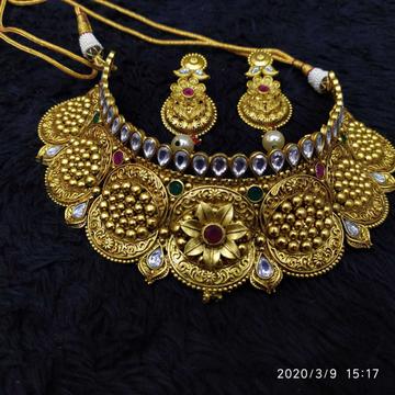 Antique Bridal Necklace#1020