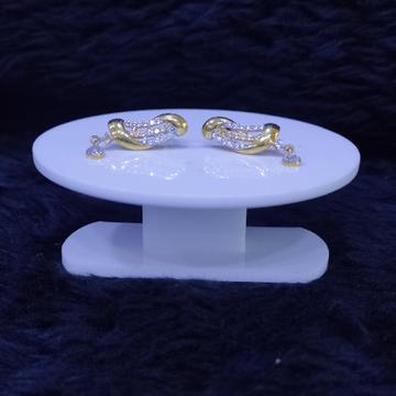 22KT/916 Yellow Gold Kesnio Earrings For Women
