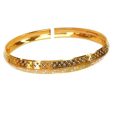 One gram gold forming cnc kada bracelet mga - bre0091