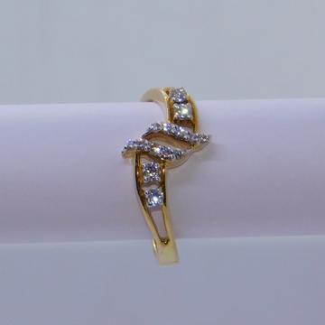 18K gold diamond ring agj-lr-288