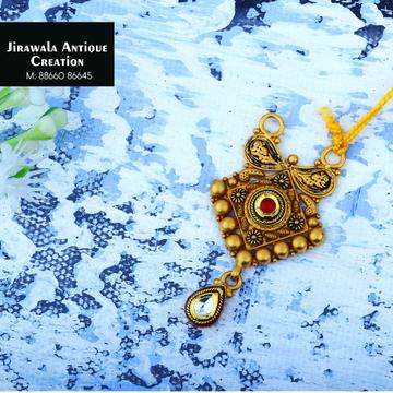22K Gold Antique Fancy Pendant JAP-012