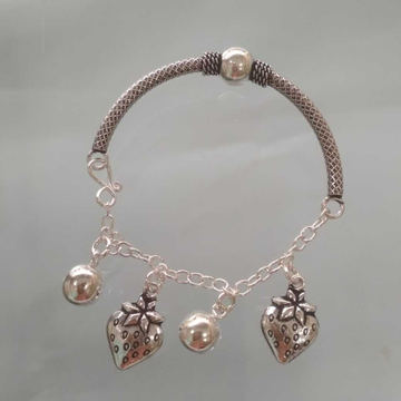 92.5 sterling silver designer baby bracelet NJ-B022