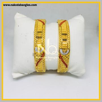 916 Gold Calcutty Bangles NB - 430