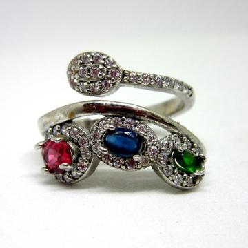 Silver 925 color stone ring sr925-239