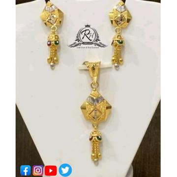 22 carat gold antique pendants set RH-PS427