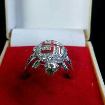 925 Silver Tortoise Designer Ring