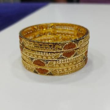 916 Gold fancy patla RJ-PB001 by