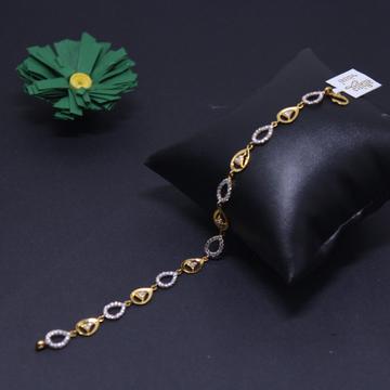 916 hallmarked attractive ladies bracelet by Simandhar Jewellers
