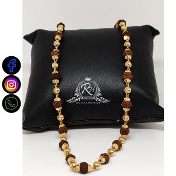 22 carat gold traditional rudraksh mala RH-ML863