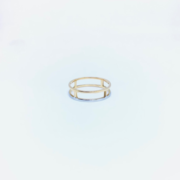 FANCY ROSE GOLD BAND by