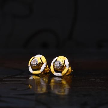22kt Gold Stylish Earring for women LSE184