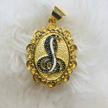 916 gold snake chain pendant