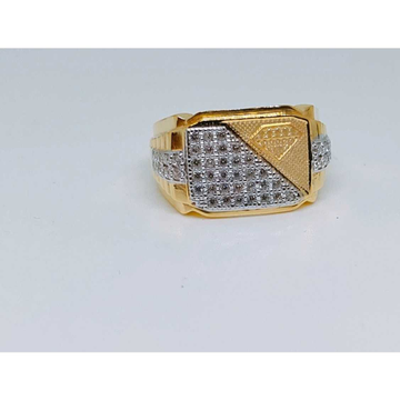 916 Gents Fancy Gold Ring Gr-28645