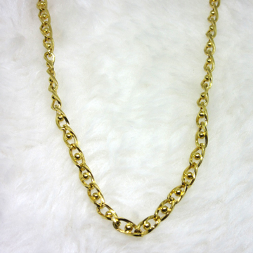 Gold Hollow Fancy Chain