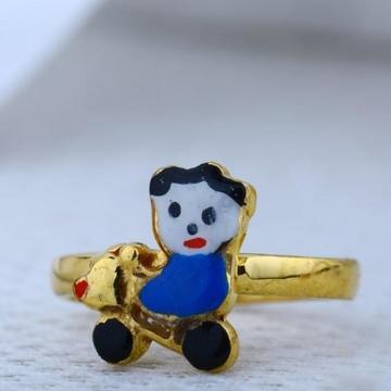 916 Gold 22kt Kids Ring RH-BR78