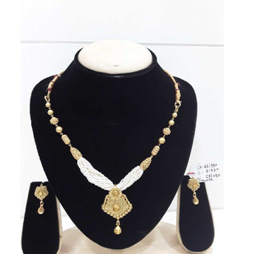 916 Antique  Fancy Gold Moti Chediyu Set