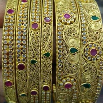 Manufacturer Of 916 Gold Antique Indian