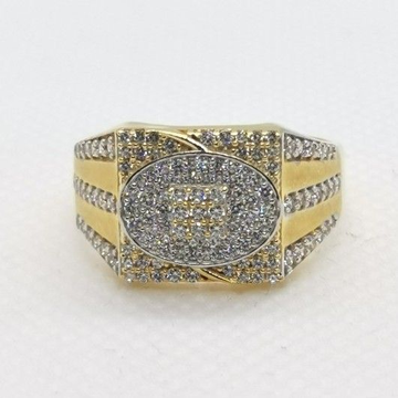 Pave Stone Ring