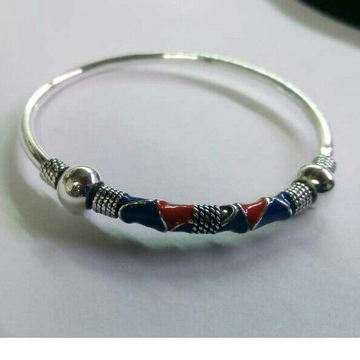 925 Silver Flexible Ladies Bracelet