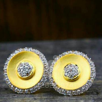 18kt Precious Round Shape Gold Cz Ladies Tops ATG -0293