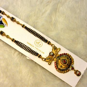 22k 916 Gold Hallmark Antique Mangalsutra by