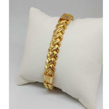 22 KT GOLD DESIGNED GENTS BRACELET