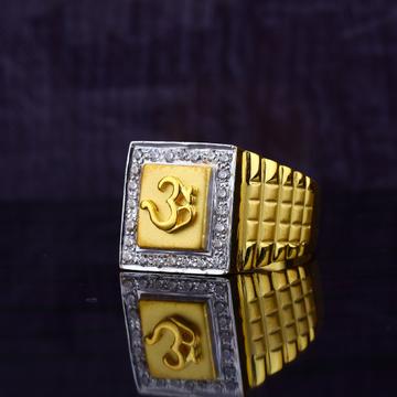 Om Gold Ring-MGR64