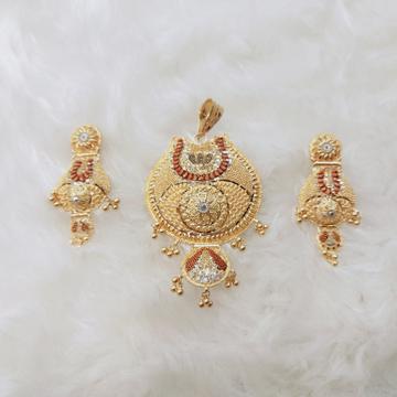 pendant set kalkati PETAN by Ghunghru Jewellers