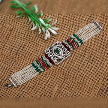 Silver Designer Ladies Bracelet PJ-B003