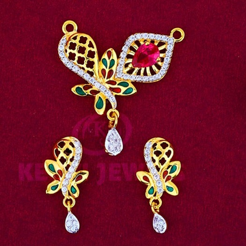 916 Gold Mangalsutra Pendal with Butti MSP-010