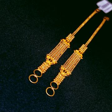 22K Gold Fancy Ear chain by Ghunghru Jewellers