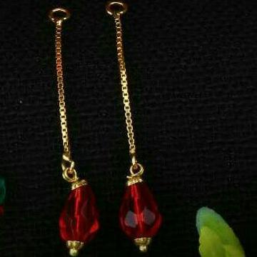 18Kt Gold Classic Ladies Earrings
