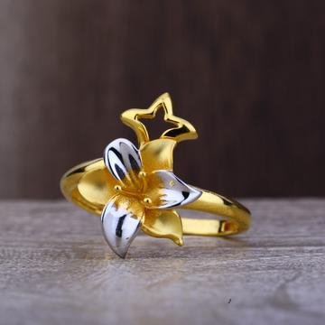 Ladies 916 Gold Fancy Designer Ring -LPR97