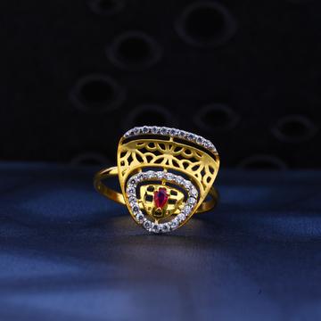 916 Gold Designer Ladies Ring LR30