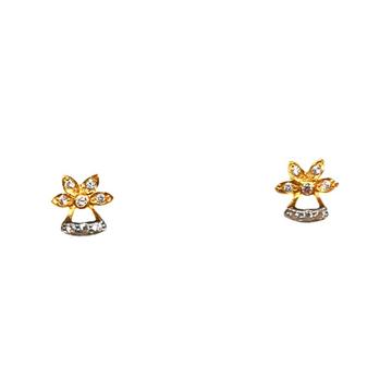 22K Gold Fancy Baccha Earrings MGA - BTG0034