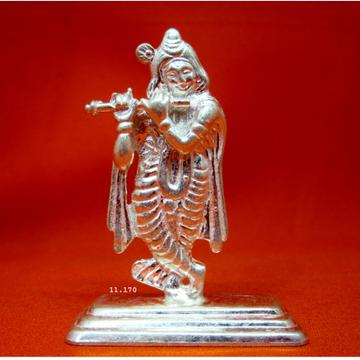 Silver Shree Krishna Statue(Murti)  MRT-148